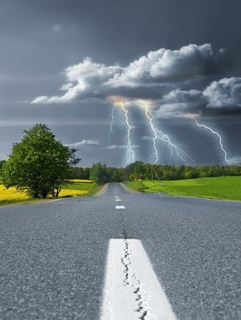 Thunderstorm Road
